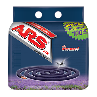 ARS PLUS MOSQUITO COIL (SAVE PACK)  LAVENDER