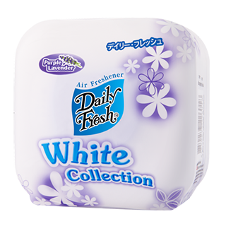 DAILY FRESH WHITE COLLECTION PURPLE LAVENDER