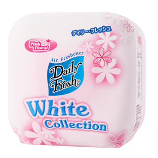 DAILY FRESH WHITE COLLECTION PINK FLORAL