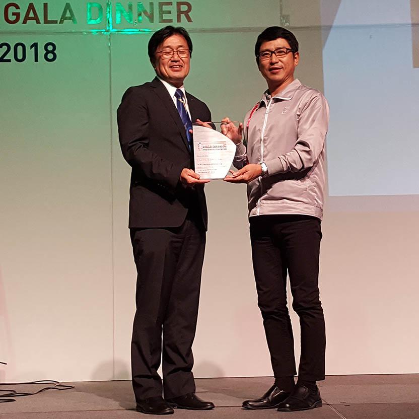 """เอิร์ธ (ประเทศไทย)  ได้รับรางวัล """"Innovation – Package Design Award"""" จากสมาคมผู้ผลิตภัณฑ์สเปรย์ไทย"""