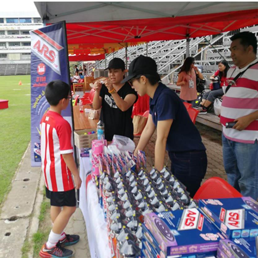 สนับสนุนกิจกรรมฟุตบอล  JDFA  (Japan Dream Football Association)