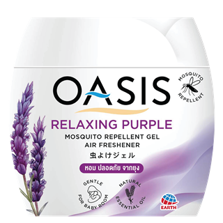 OASIS MOSQUITO REPELLENT GEL RELAXING PURPLE