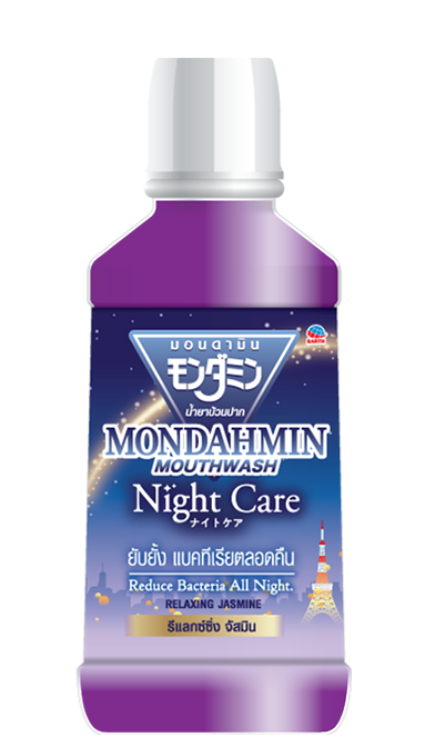 Mondahmin mouthwash Night care formula