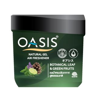 OASIS NATURAL GEL AIR FRESHENER BOTANICAL LEAF & GREEN FRUITS