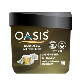 OASIS NATURAL GEL AIR FRESHENER JASMINE TEA & FREESIA
