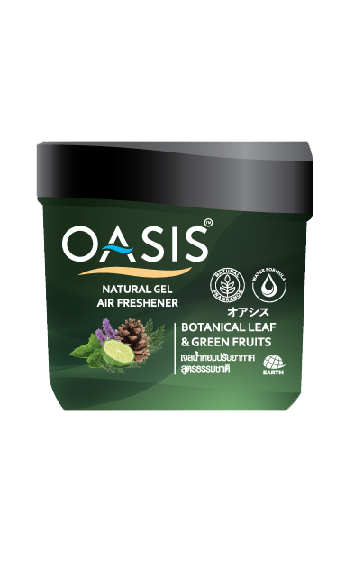 OASIS NATURAL GEL AIR FRESHENER BOTANICAL LEAF & GREEN FRUITS